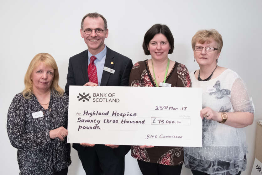 Great Wilderness Challenge contribute £73,000 to Hospice funds image