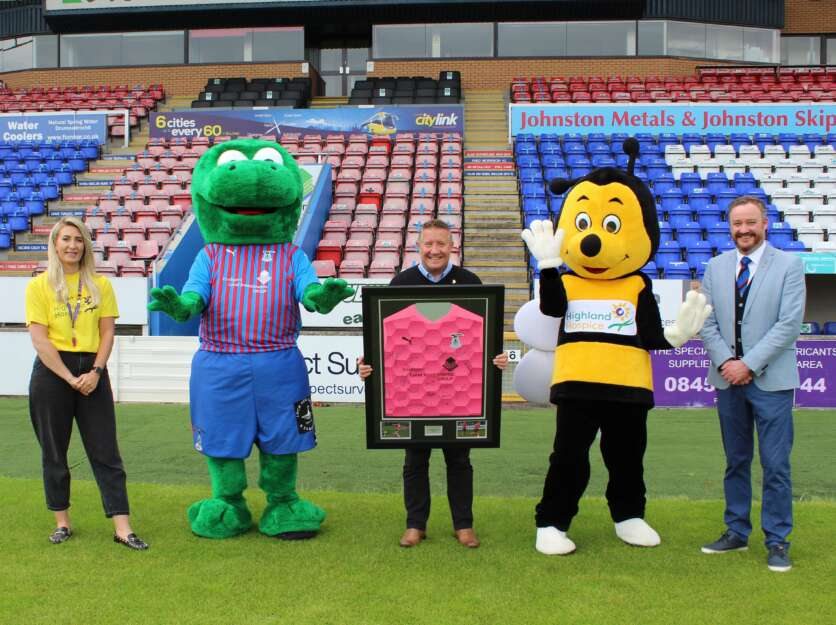 Highland Hospice Named as Inverness Caledonian Thistle Football Club Charity Partner for the New Season image