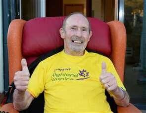 'Charlie's Care' - Allan Murray Launches Hospice Wear Yellow Day 2021 image