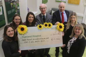 Highland Hospice Make a Will Month Raises Over £100,000 image