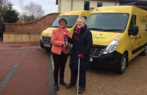 Hospice Vans Named After Founders image