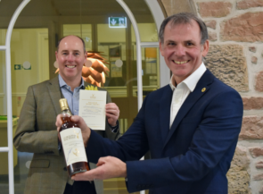 Generous Donation from Gordon and MacPhail for Hospice Whisky Auction image