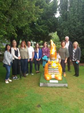 Tain Dental Care See Results of Fundraising at Highland Hospice image