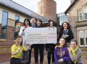 University staff raise over £6000 for Highland Hospice image