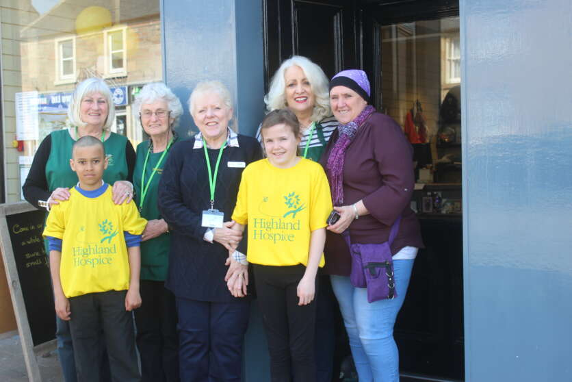 Inspiring Ross-shire Youngsters Raise Hospice Funds image