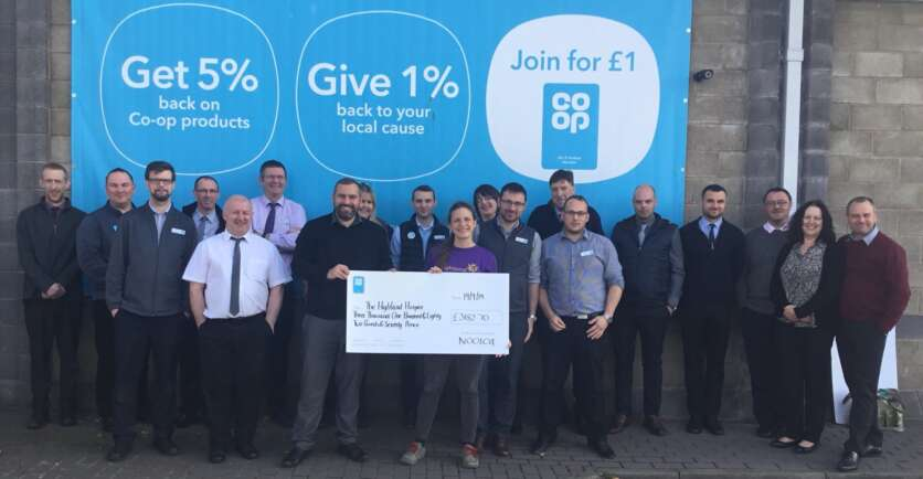 Co-op Hands Over  £3,000 After Fundraising Bonanza image