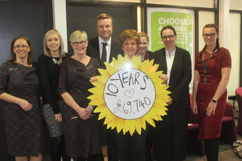 ​  Clydesdale & Yorkshire Banks Celebrate a Decade of Difference with Hospice UK image