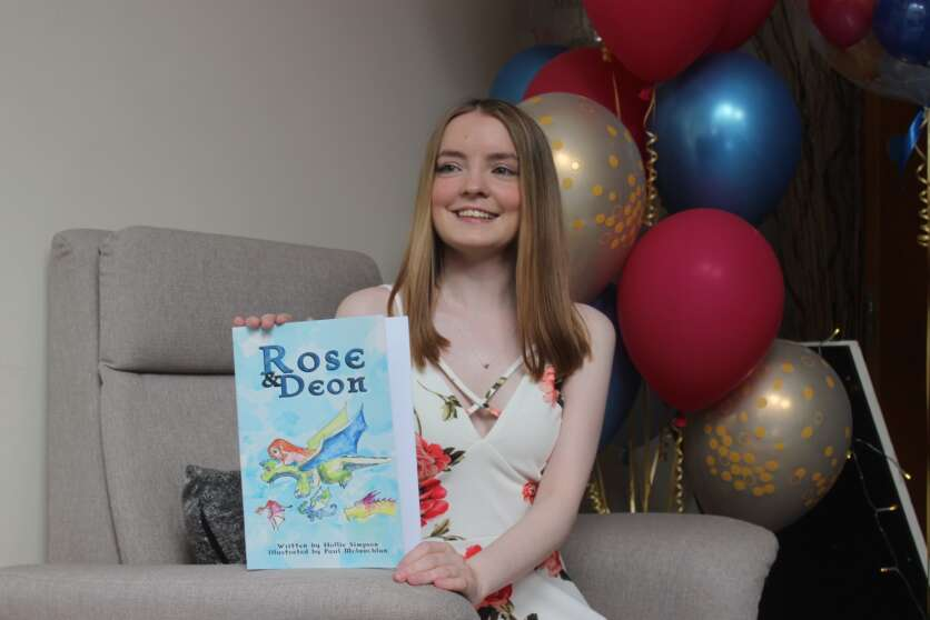 Hollie Launches Book at Highland Hospice image