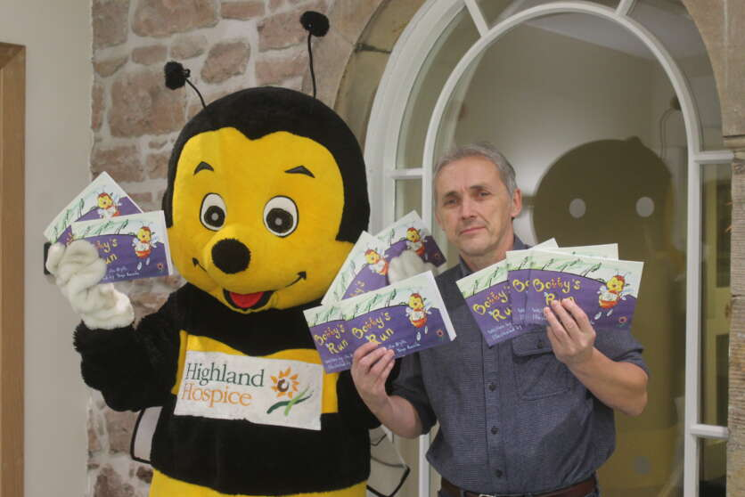 Hospice Mascot Bobby the Bee Stars in New Childrens' Book image