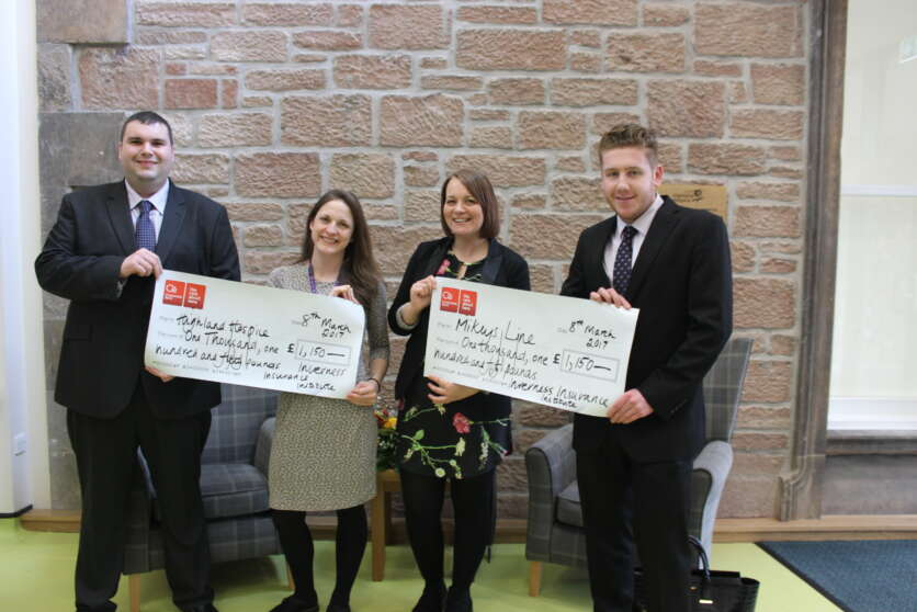 Insurance Institute Supports Highland Hospice and Mikeysline image