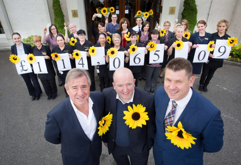 Kingsmills Hotel Raises £114,000 for Hospice Appeal image