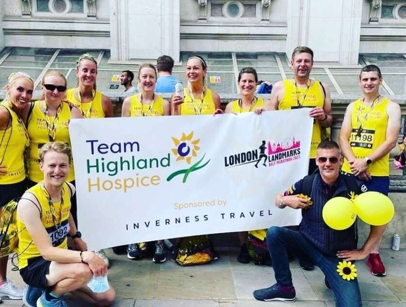 Team Highland Hospice Complete London Landmarks Half Marathon image