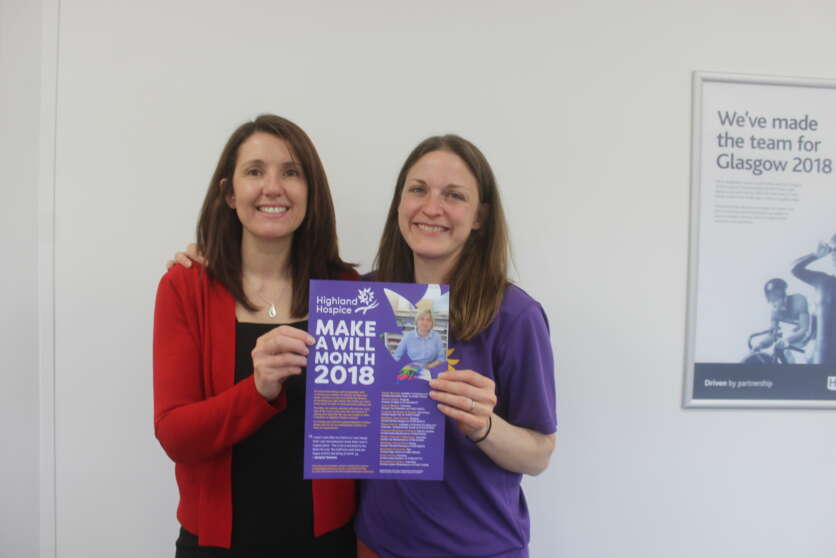 Highland Hospice Launches Make a Will Month 2018 image