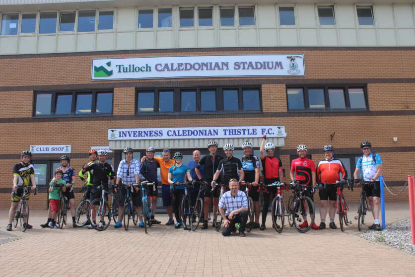 Scottish Water Team Raise Hospice Funds Through Cycle image
