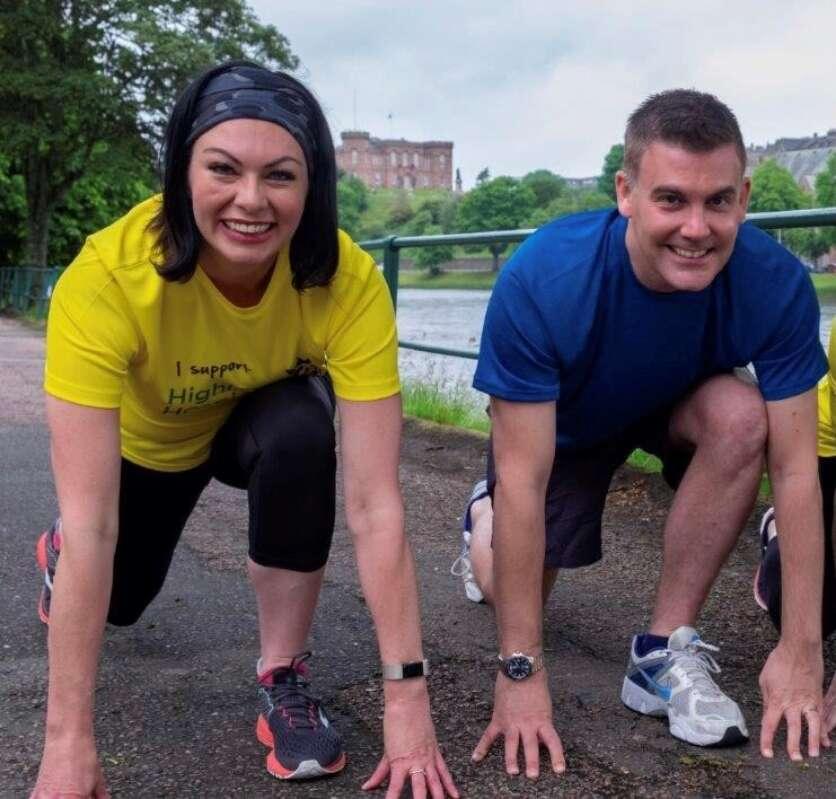 Highland Hospice Runners Prepare to take on London Landmarks Half Marathon image